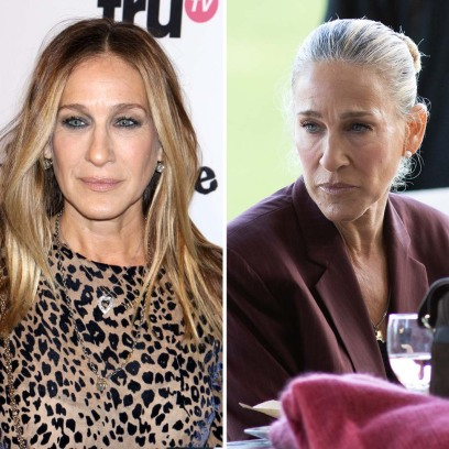 Stars Who Celebrate Their Natural Grey Hair: Before After Photos Once Trips Colorist Stop