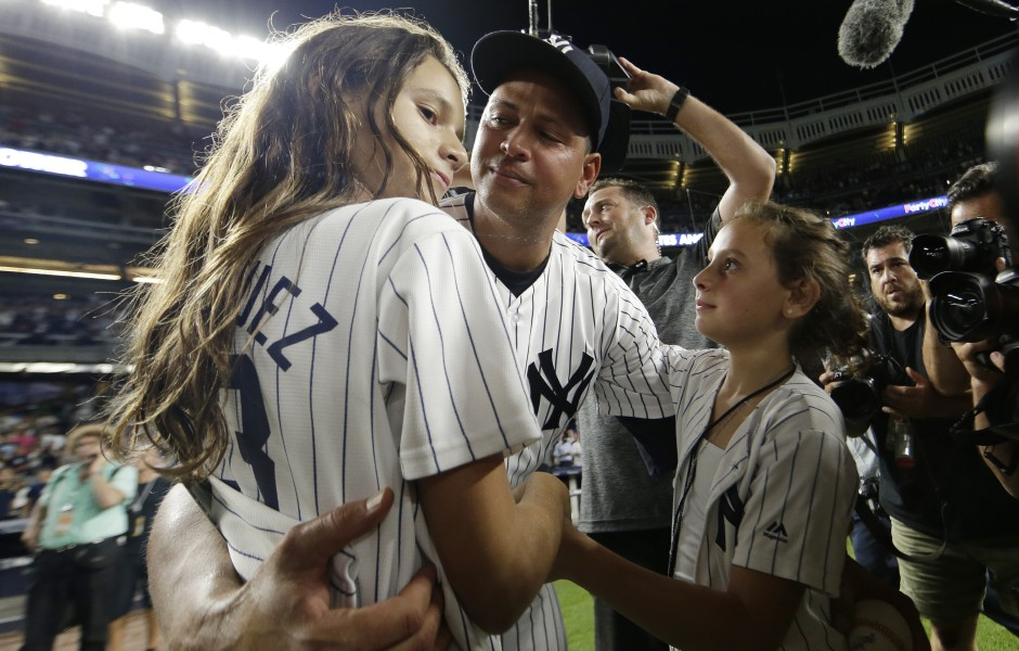Alex Rodriguez Is a Proud Father of 2! Meet His Teenage Daughters Natasha and Ella