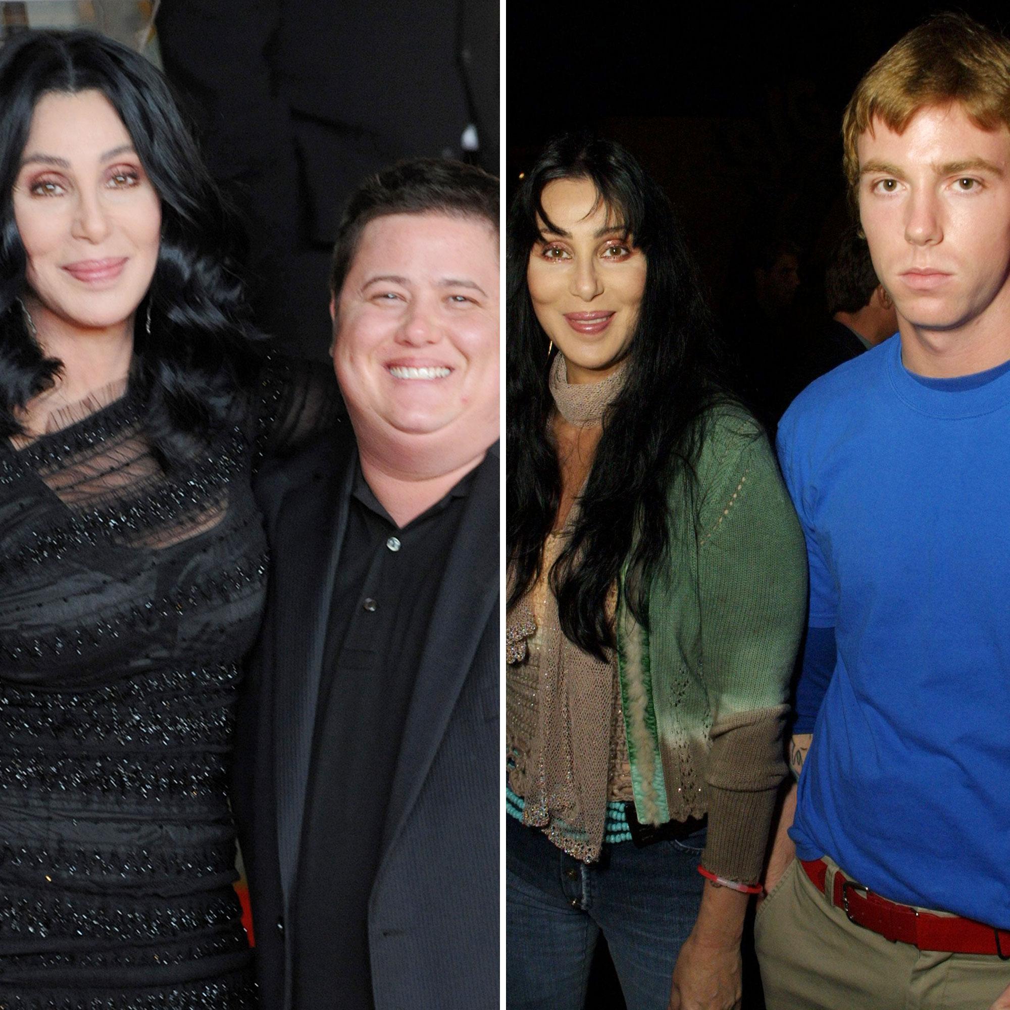 Cher Kids Get To Know Her Beloved Sons Chaz Bono Elijah Blue Allman