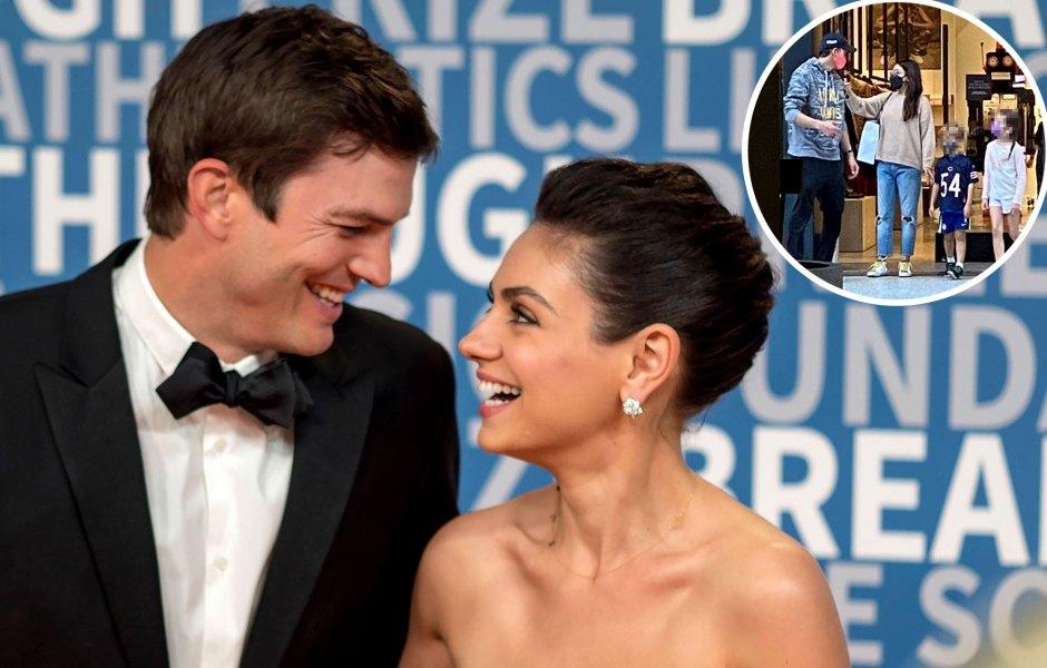 Family Bonding! Ashton Kutcher and Mila Kunis Enjoy a Rare Outing With Their 2 Kids: See Photos